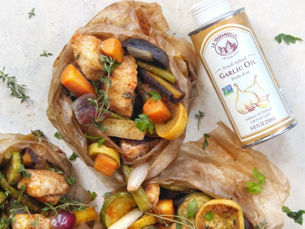 Image ofGrilled Chicken Parchment Packets