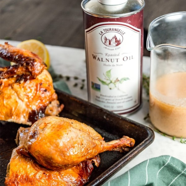 Image ofHerb Roasted Chicken with Vinaigrette