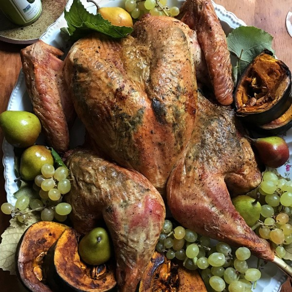Image ofHerb and Avocado Oil-Infused Spatchcock Turkey