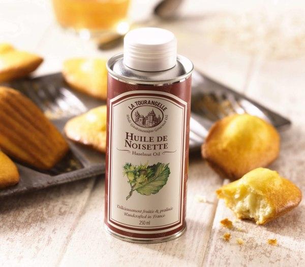 Image ofMadeleine with Roasted Hazelnut Oil