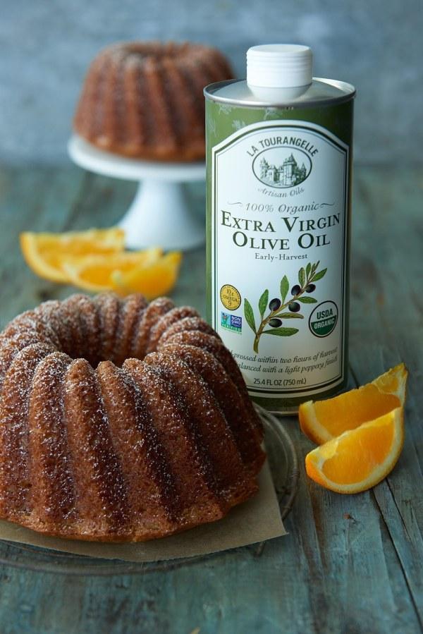 Image ofOlive Oil Apple-Spiced Cake
