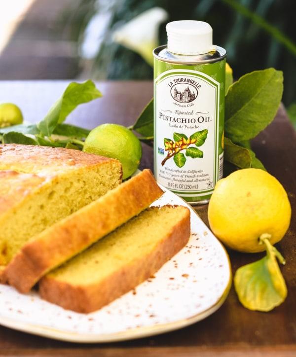Image ofPistachio Yogurt Lemon Cake