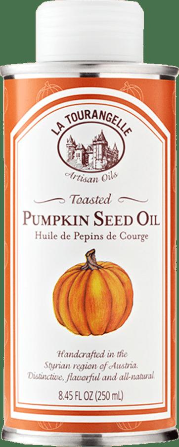 Image ofPumpkin Seed Oil and Carrot Vinaigrette
