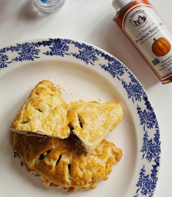 Image ofPumpkin Squash, Cranberry, and Kale Hand Pies