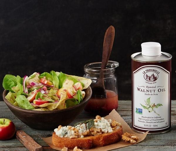 Image ofRoasted Walnut Oil Vinaigrette