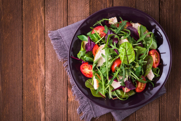 Image ofSesame Miso Salad with Grapeseed Oil