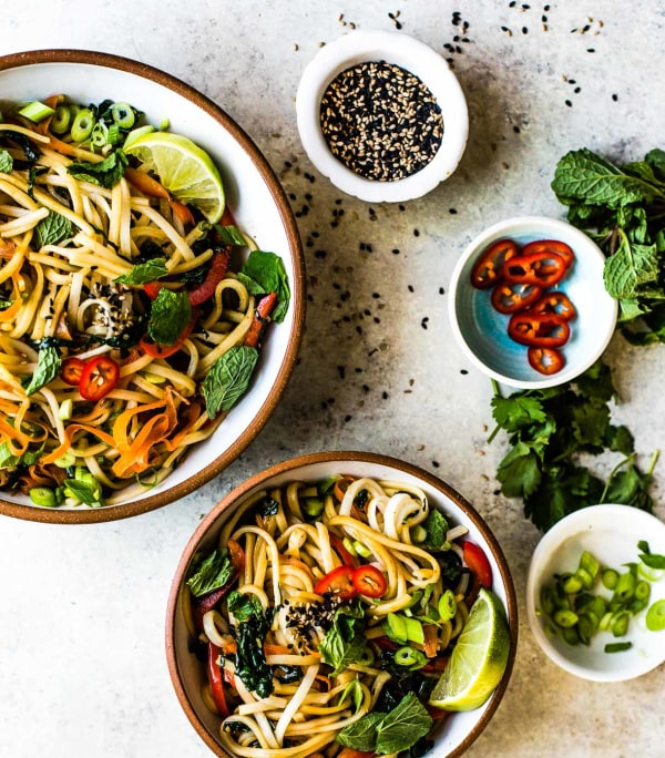 Image ofSesame Rice Noodle Bowl