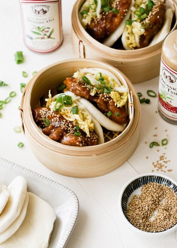 Image ofSesame Chicken Gua Bao