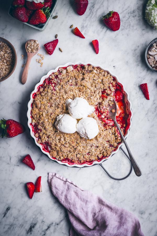 Image ofStrawberry Crisp
