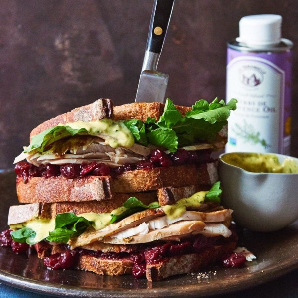 Image ofThanksgiving Leftovers Sandwich