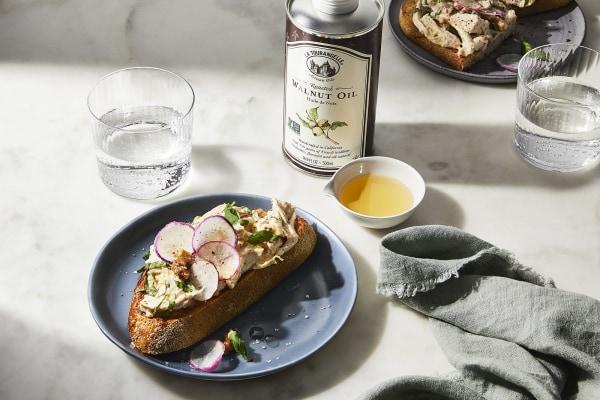 Image ofWalnut Chicken Salad on Sourdough Toast