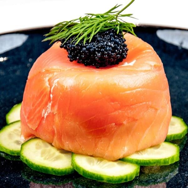 Image ofSmoked Salmon and Caviar Terrine