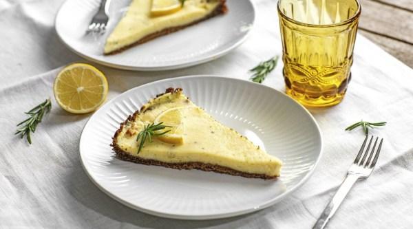 Lemon Curd Cheesecake Rezept