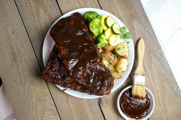 Image of Pressure Cooker Baby Back Ribs