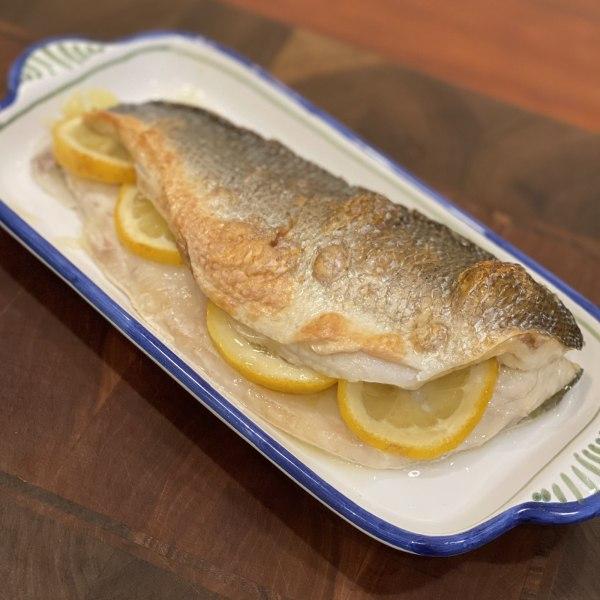 Image ofRoasted Filleted Branzino (aka Sea Bass aka Loup de Mer)