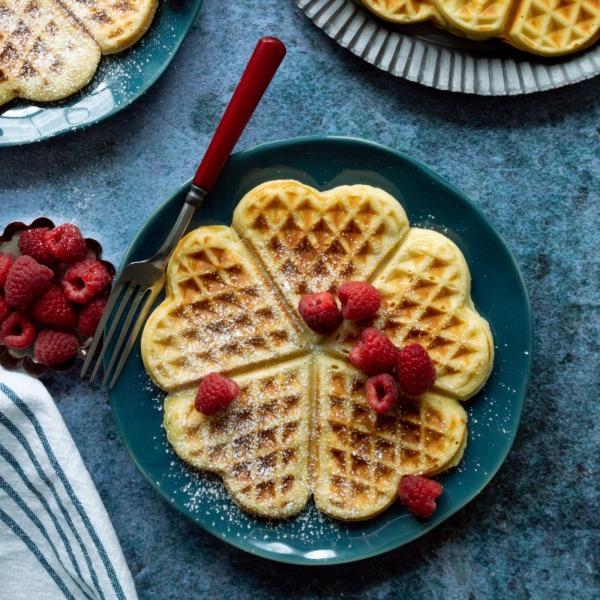 Image ofGerman Herzwaffeln (Heart Waffles)
