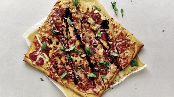 Image of Erdbeer Pizza Rezept