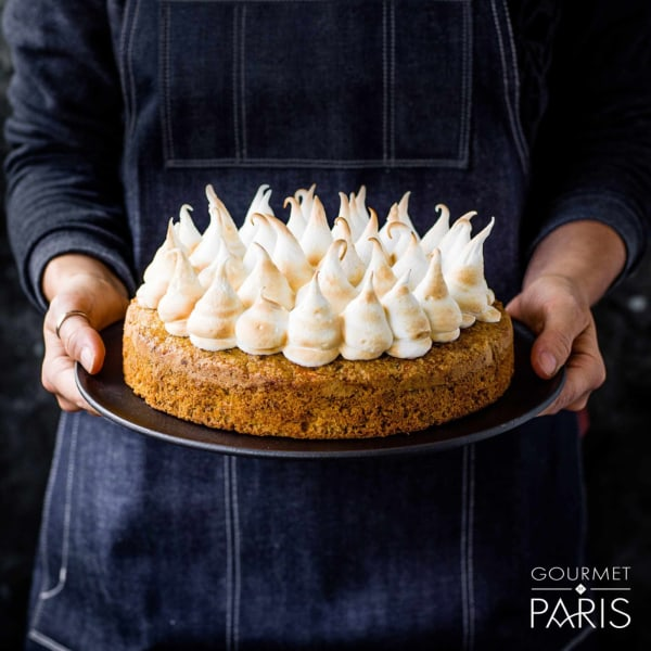 Image ofGluten-free Carrot Cake with Toasted Marshmallow Icing