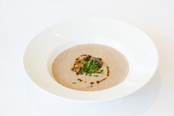Image ofGolden Chanterelle and Morel Mushroom Soup