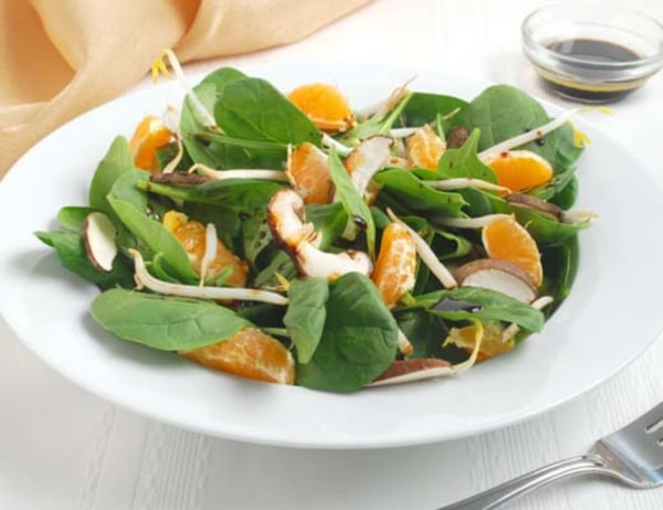 Image of  Tangerine and Spinach Salad