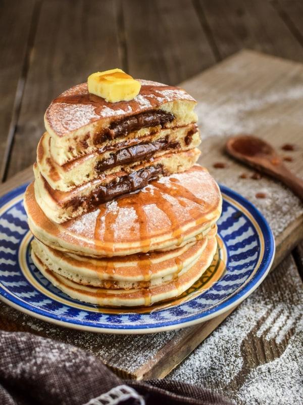 Image of Nutella Pancakes