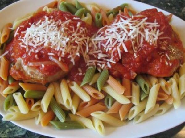 Image of Pork Chop Pizziola Recipe