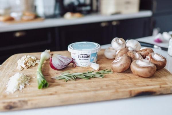 Image ofCheesy Stuffed Mushrooms