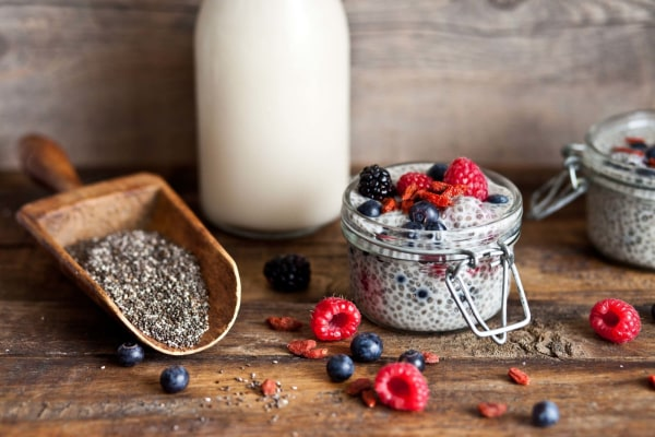 Image ofVanilla Chia Pudding with Berries