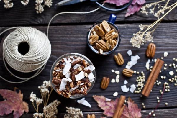 Image ofBuckwheat Granola with Pecans, Chocolate and Coconut