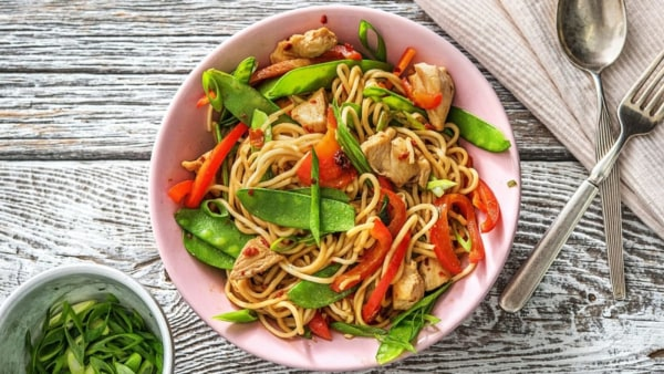 Image of 20 Minute Protein-Packed Chicken Chow Mein Recipe