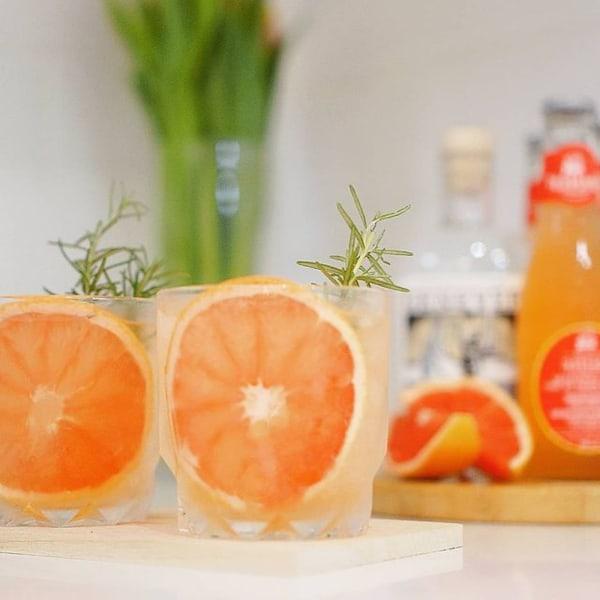 Genever Grapefruit Tonic Cocktail