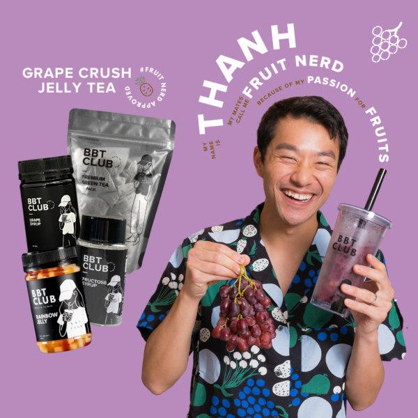 Image ofGrape Jelly Crush Tea Recipe