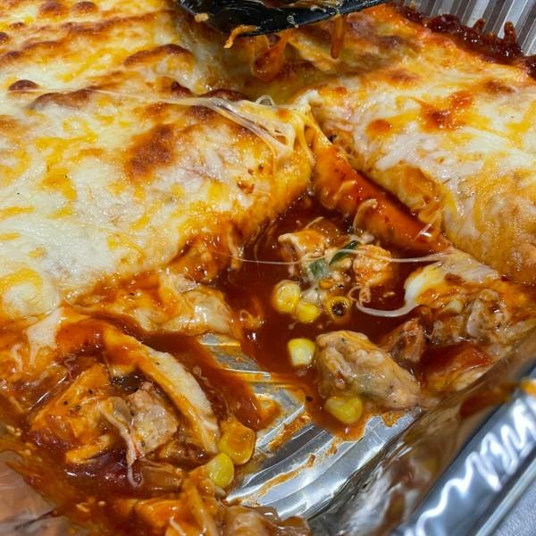 Image ofSmoked Chicken Enchiladas