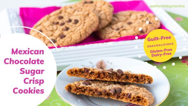 Image ofA Snackalicious Mexican Chocolate Sugar Crisp Cookies