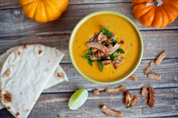 Image ofCurried Pumpkin Soup with Coconut
