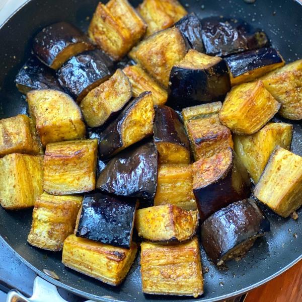 Image of Shawarma & Honey Roasted Eggplant