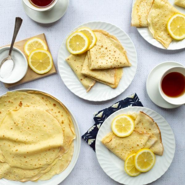 Image ofEnglish Lemon Sugar Pancakes