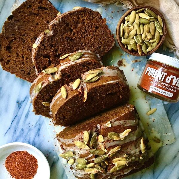 Image ofSpiced Pumpkin Gingerbread Loaf