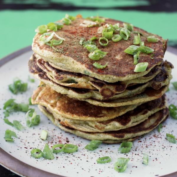 Image ofPoblano Corn Pancakes