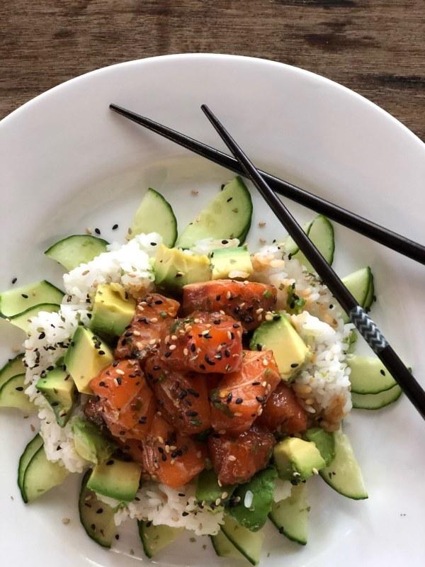Image ofSalmon Poke Salad