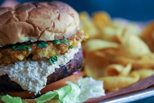 Image ofElote Loco Burger
