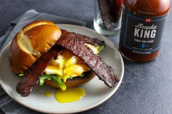 Image of Candied Bacon Breakfast Sandwich