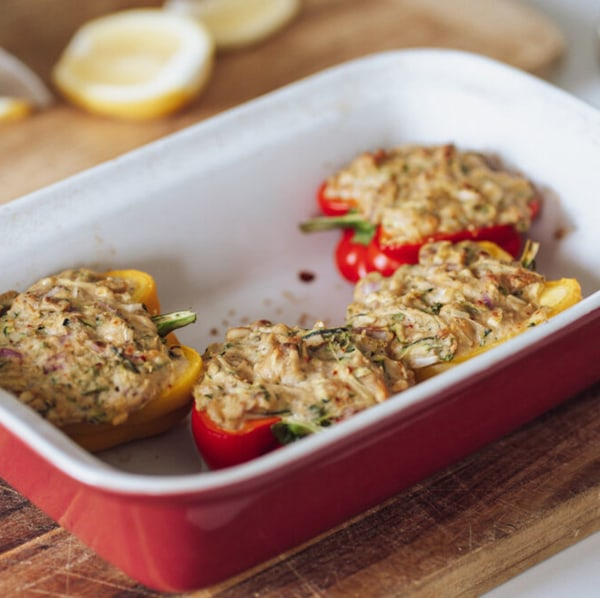 Image ofCheesy Stuffed Bell Peppers