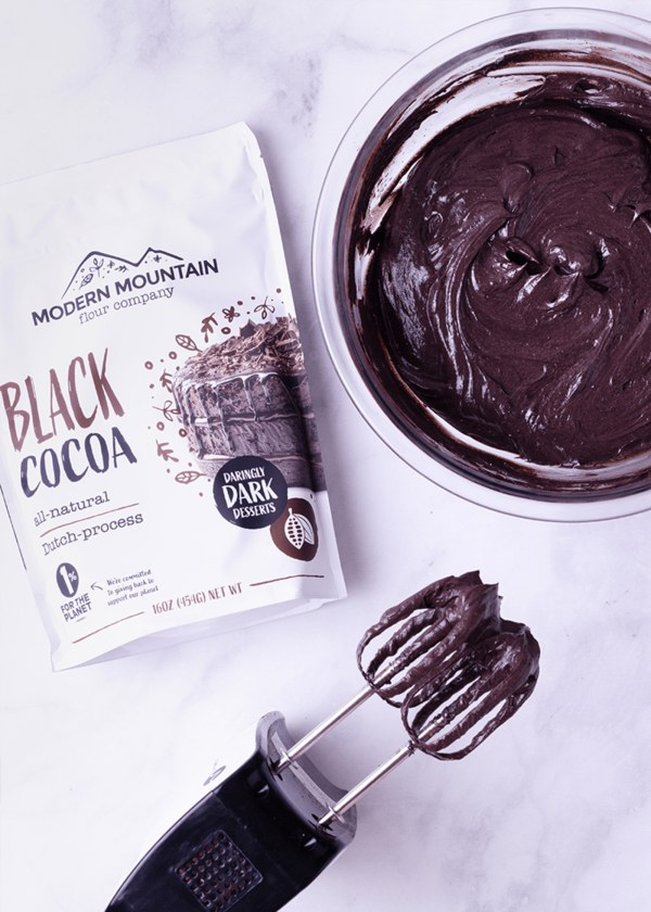 Image of Black Cocoa Frosting