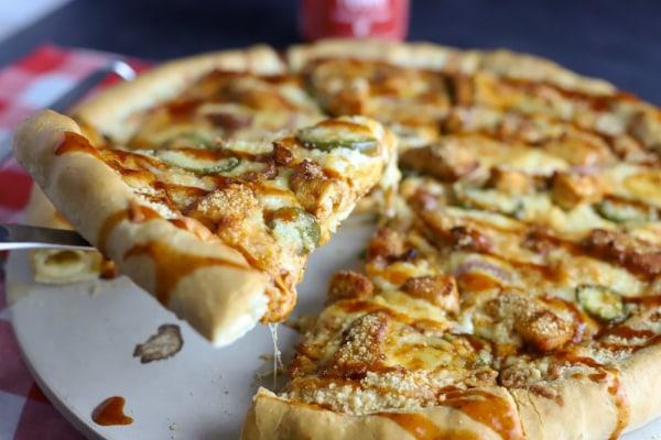 Image of Stuffed Crust BBQ Chicken Pizza