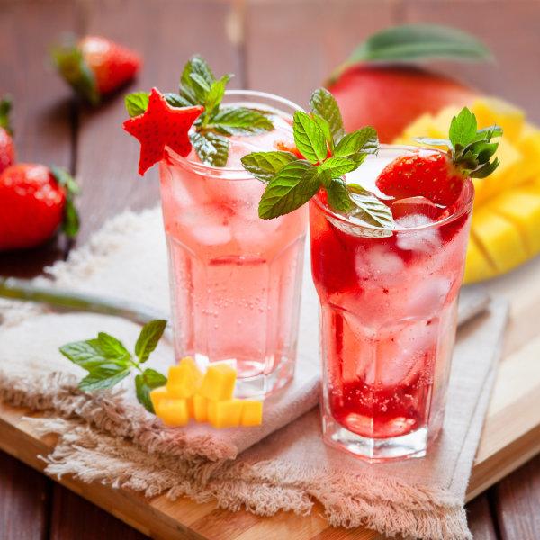 Image ofStrawberry Mango Cooler