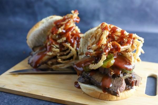 Image of Smoked BBQ Brisket Sandwich