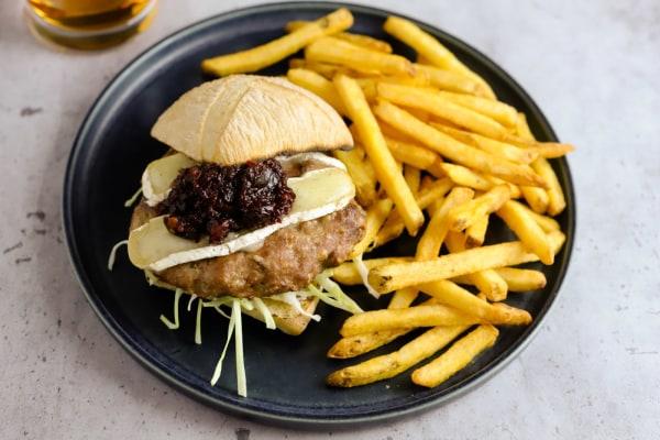 Image ofTurkey Burger with Cranberry Chutney