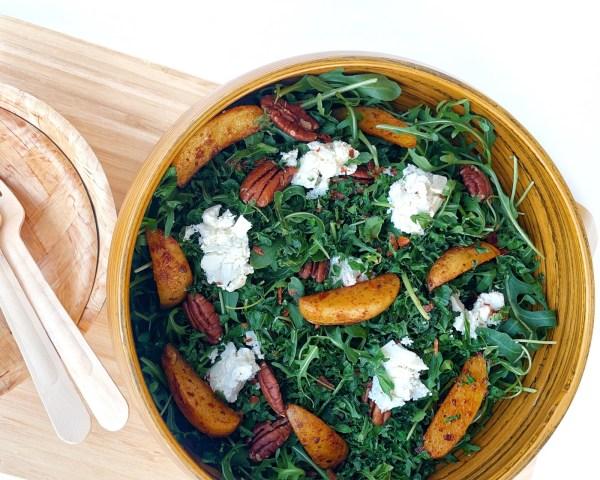 Image ofKale Harissa Potato Salad