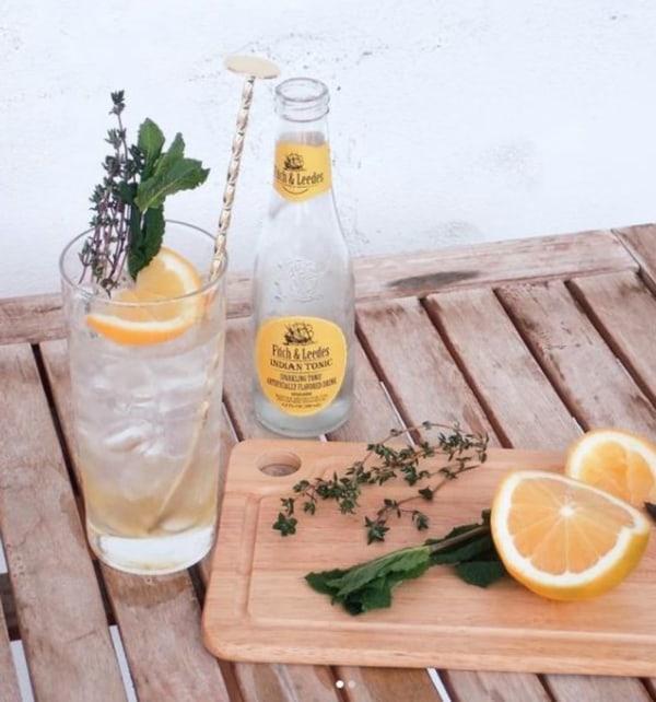 Image of Yuzu Jam Indian Tonic Mocktail
